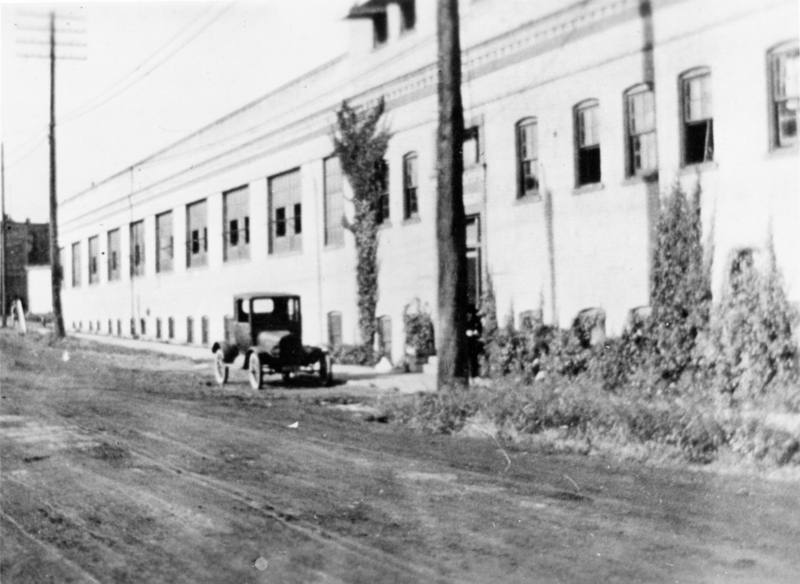 Building 2 (left) and Building 1 (right), Forest Street, in 1921.