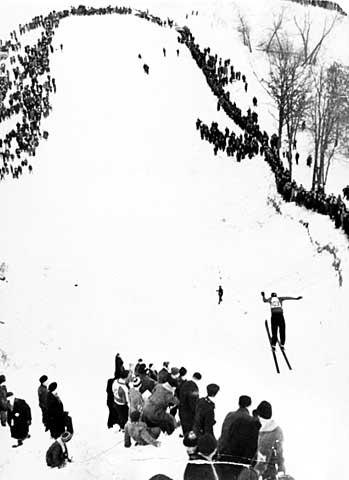 Ski Jump, Indian Mounds Park