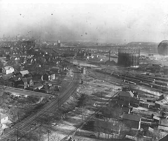 Chicago, St. Paul, Minneapolis & Omaha Railway freight yards