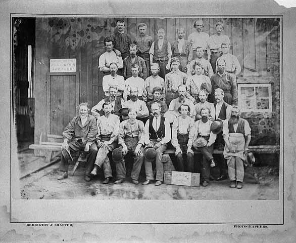 Saint Paul and Pacific Railroad employees