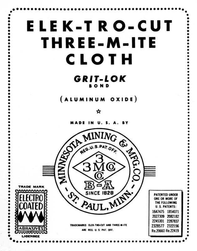 """Three-M-Mite"" Abrasive Cloth"