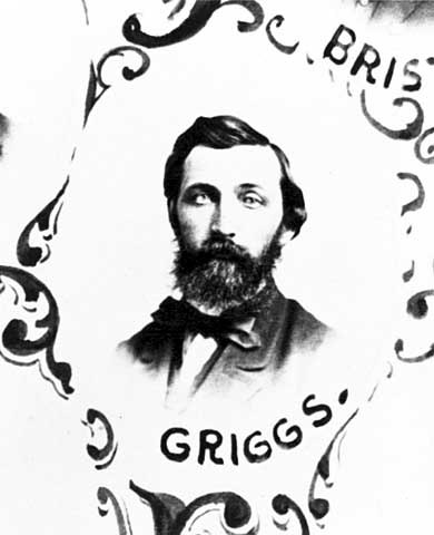Chauncey Wright Griggs in 1868