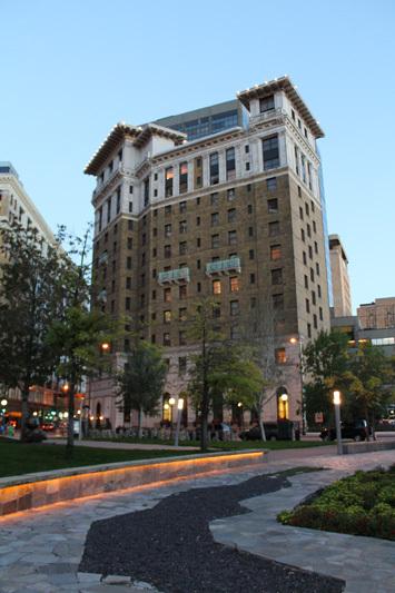Saint Paul Hotel, north facade