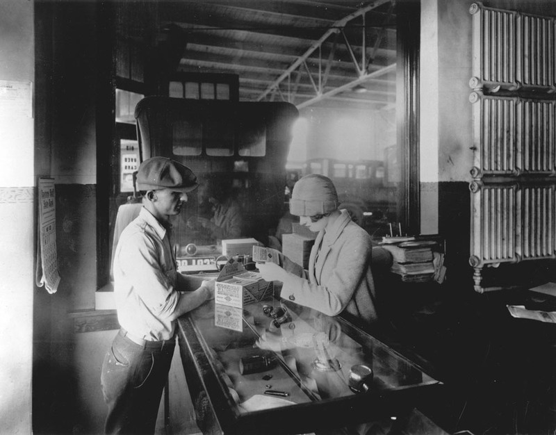 Retail Counter, 1920's
