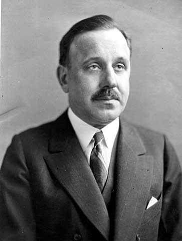 Dr. Egil Boeckmann in 1937