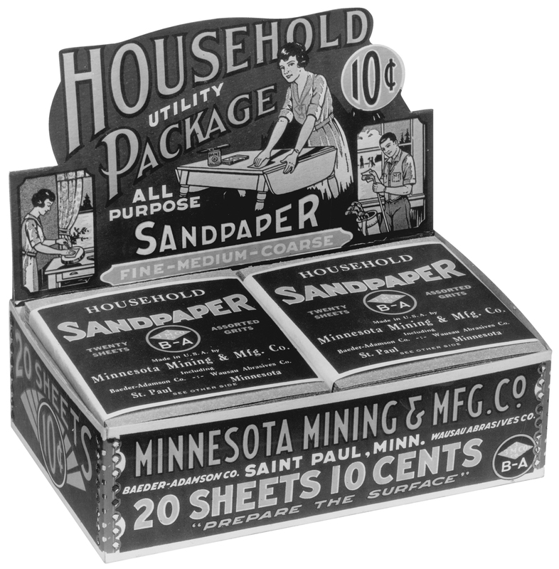 """""""Household Utility Package All Purpose Sandpaper"""", 1930"""