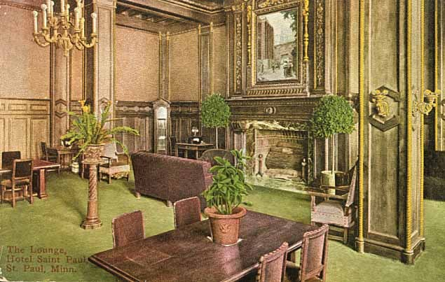 Hotel Saint Paul, Lounge