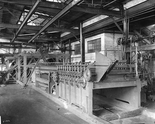 Interior of the St. Paul Foundry Company
