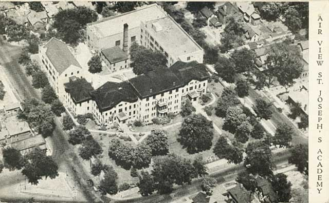Aerial view of St. Joseph's Academy