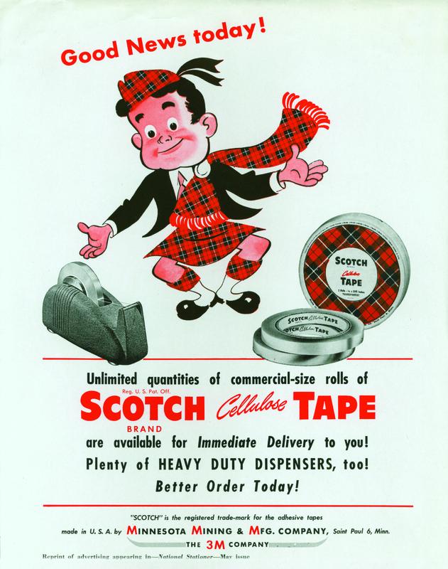 "Scotch Tape ""Good News"" Ad"