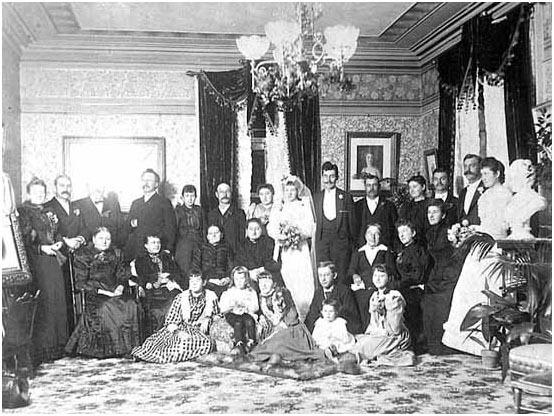 Wedding of William Hamm, Sr. and Marie Scheffer