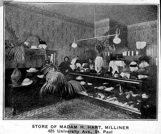 Millinery store of Madam H. Hart