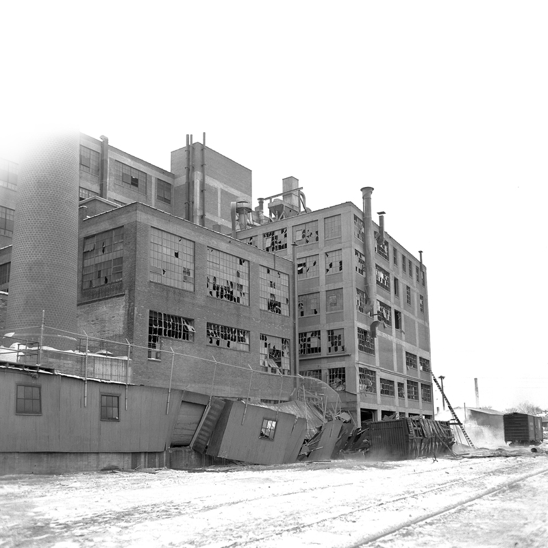 Building  12 After the Explosion