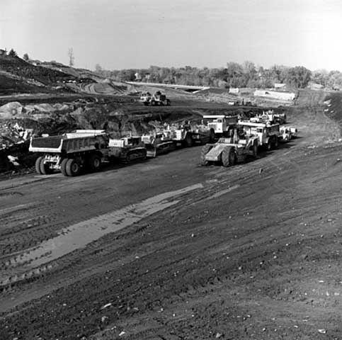 Interstate 35E construction