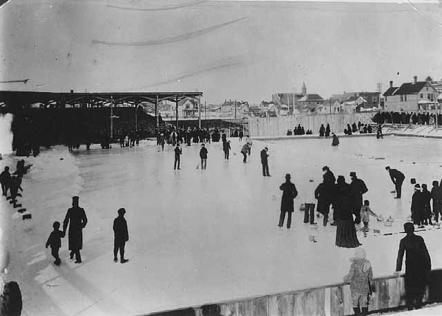 Winter Carnival curling game