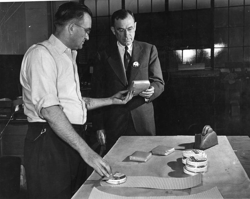 Frank Reske and President Mcknight