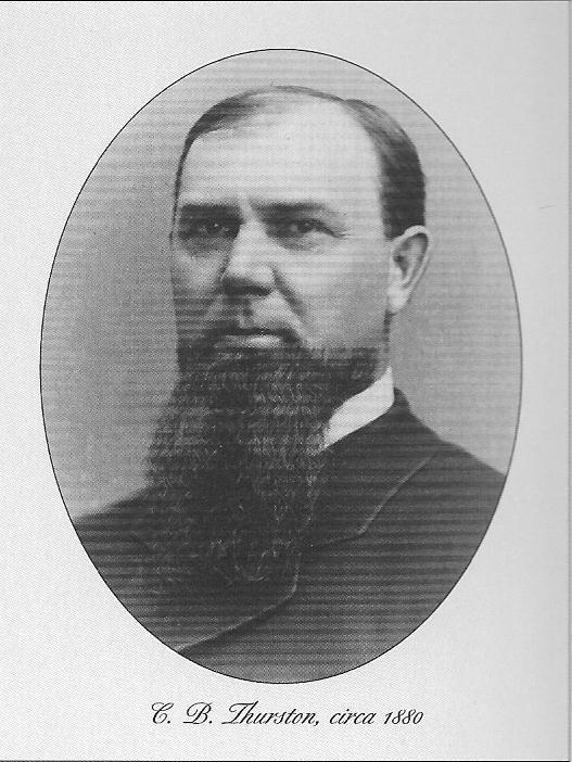 Cyrus Thurston circa 1880