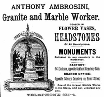 Anthony Ambrosini, Granite and Marble Worker