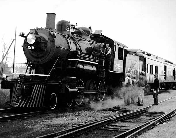 Northern Pacific locomotive 328