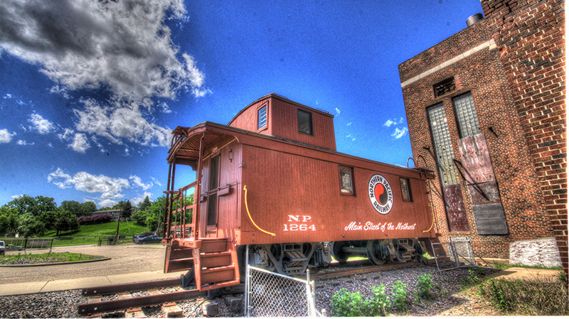 Northern Pacific Railway Caboose