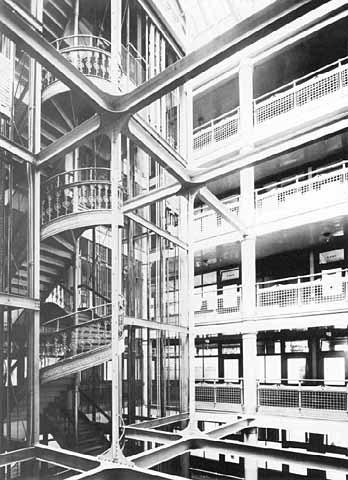 Pioneer Building, Interior