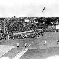 Baseball game at Lexington Park