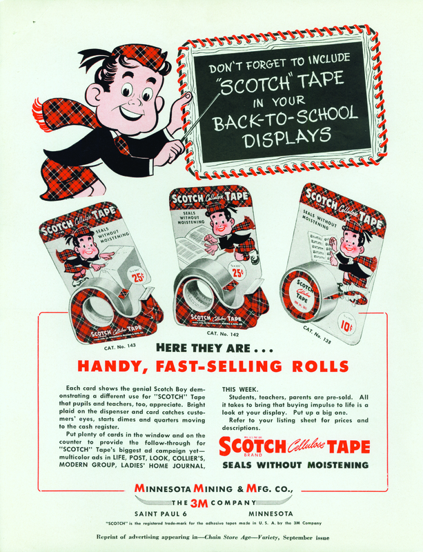 "Scotch Tape ""Don't Forget"" Ad"
